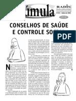 Conselhos de Saúde e Controle Social - Sumula81