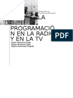 Programación Radio y Tv