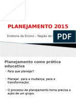PLANEJAMENTO 2015