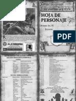 hoja de personaje warhammer juego de rol 2 edicion