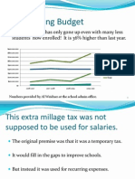 Sarasota School Millage Property Tax Presentation