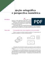 Projeção Ortográfica e Perspectiva Isométrica