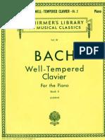 Bach - O Cravo Bem Temperado - Livro 2