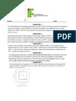 Td 2 (Calor e 1ª Lei Da Termodinâmica)