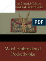 Pocket Books, Purses, Wallets - Wool Embroidered Pocket Books