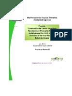 manifiesto de impacto ambiental