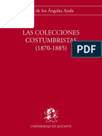 Costumbrismo. Colecciones (1870-1885) - AYALA, M.ª a. (1993)