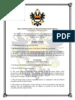 Ruthenian Constitution