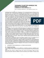 Cenários para avaliação ciclo de vida de produtos.