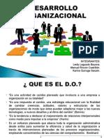Cap 15 Desarrollo Organizacional
