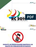 Jorge Segura Conferencia en Cartagena Nsr 10