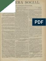 Bandera Social, Nº 18 (1885 Jun. 14) Not. Aragón