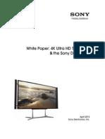 Sony 4K Ultra HD WhitePaper v2TG