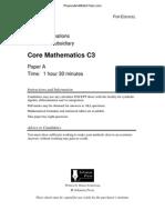 Paper a QP - C3 Solomon
