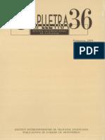Caplletra 36, 2004 - Literatura i Exili