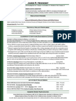 James Hennessy_professional Resume_Jan 2015