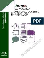 Estándares de la práctica profesional docente Andalucía Borrador