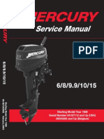 Tohatsu 2 Stroke Service Manual 1992 2000 | Corrosion | Screw