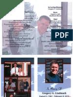 Greg Lindmark Brochure