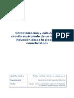 Caracterización y Cálculo Del Circuito Equivalente de Un Motor de Inducción Desde La Placa de Características