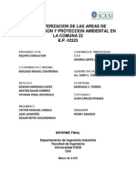 Informe Final Caracterizacion Areas de Protecci n