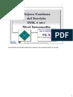 Mejora Continua ITIL 2011