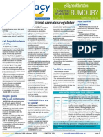 Pharmacy Daily for Mon 16 Feb 2015 - Medicinal cannabis regulator, 6CPA discussions start, PSA Tas new president, Research should be in Code, and much more