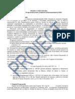 Proiect Procedura Programul Pentru Sustinerea Internationalizarii Imm 2015