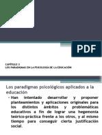 Capítulo 3 Los Paradigmas en La Psicología de La Educación