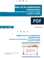 Competencias Comunicativas Melilla