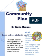 kevin rounds community plan