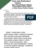Resep (Prescription)