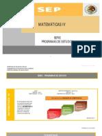 Matematicas IV