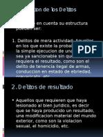 Clasificacion de Los Delitos, Continuados, Permanentes, Etc