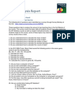 EdTech 503 Part 2 Analysis Report