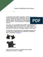 Transmissão Automática AW50-40LE de Aisin Warner