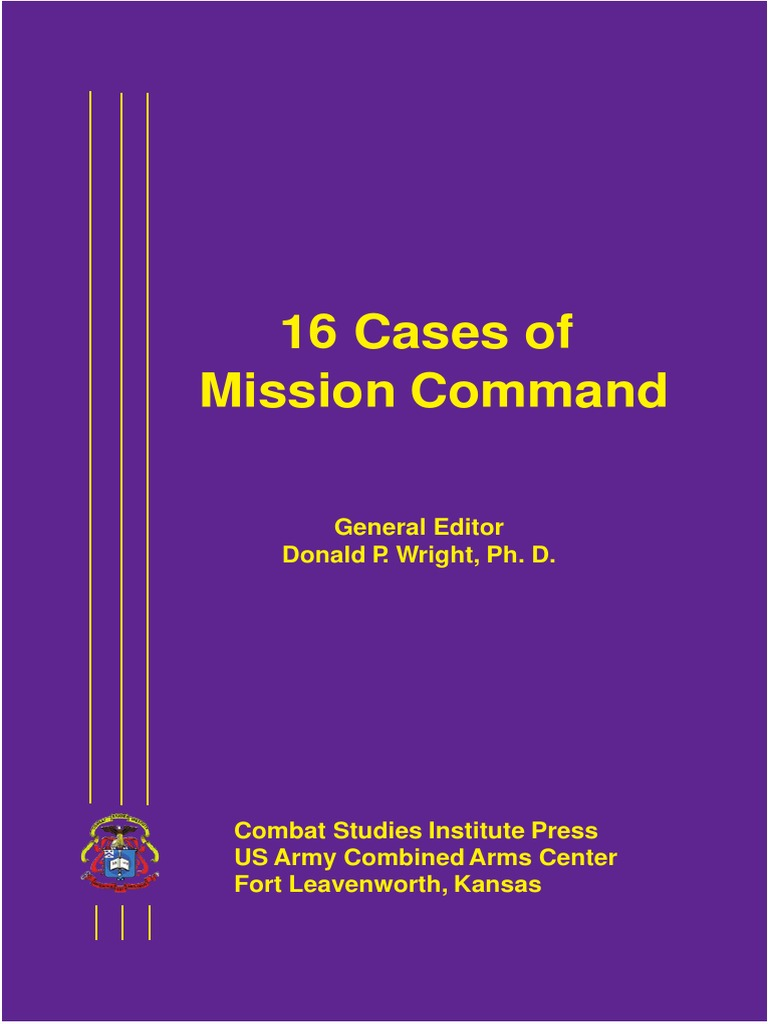 Sixteen Cases Of Mission Command Battle Gettysburg Military 1990 Lincoln Mark Vii Wiring Diagram For Etac System Organization