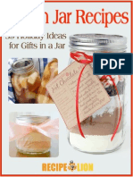 Mason Jar Recipes 39 Holiday Ideas for Gifts in a Jar