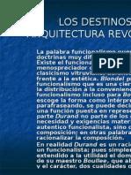 ARQUITECTURA REVOLUCIONARIA