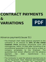 Contract Payments & Variations - 2