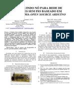 Construindo Nó Para Rede de Sensores Sem Fio Baseado Em Plataforma Open Source Arduíno 2 - 1002