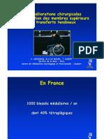 3-6 la main du Tétraplegique (Dr Leclercq)
