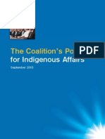 The Coalition's Policy for Indigenous Affairs 2013
