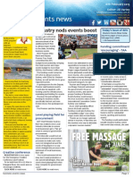 Business Events News for Mon 16 Feb 2015 - Industry nods events boost, Making a pass at NYC, Three pillars of wisdom, Face to Face with Michael Cottan, and much more