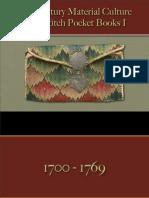 Pocket Books, Purses, Wallets - Wool Embroidered Irish Stitch 1