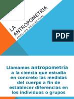 la antropometria