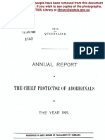 Annual Report of the Chief Protector Aboriginals 1909
