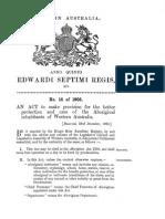 Aborigines Act (WA) 1905