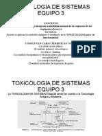 Toxicologia de Sistemas Pag.17-19
