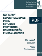 Volumen 6 Tomo I Generalidades